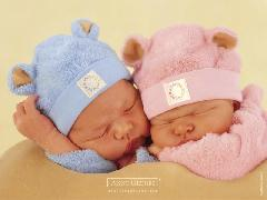 Click to downlowd the picture :: Two little babies