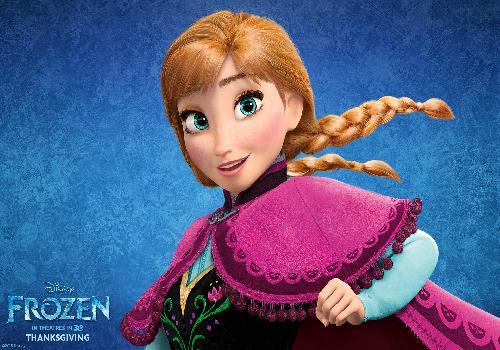 la reine des neiges anna dans frozen