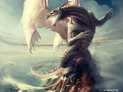 Click to downlowd the picture :: Magic: dragon perched