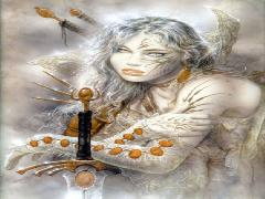 Click to downlowd the picture :: Luis Royo: Fog and Gold