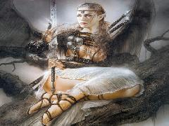 Click to downlowd the picture :: Luis Royo: Mist edge