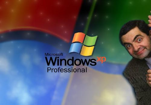 Fond Windows xp Mr Beans