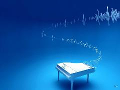 Click to downlowd the picture :: blue piano