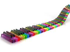 Click to downlowd the picture :: Piano keyboard multicolor