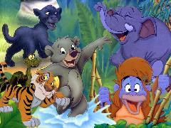 Fonds d'écran Cartoons & Dessins animés : Le livre de la jungle
