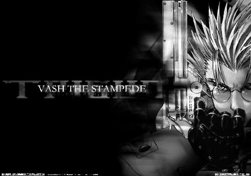 Trigun Vash The Stampede Revolver Glove Black Black And White