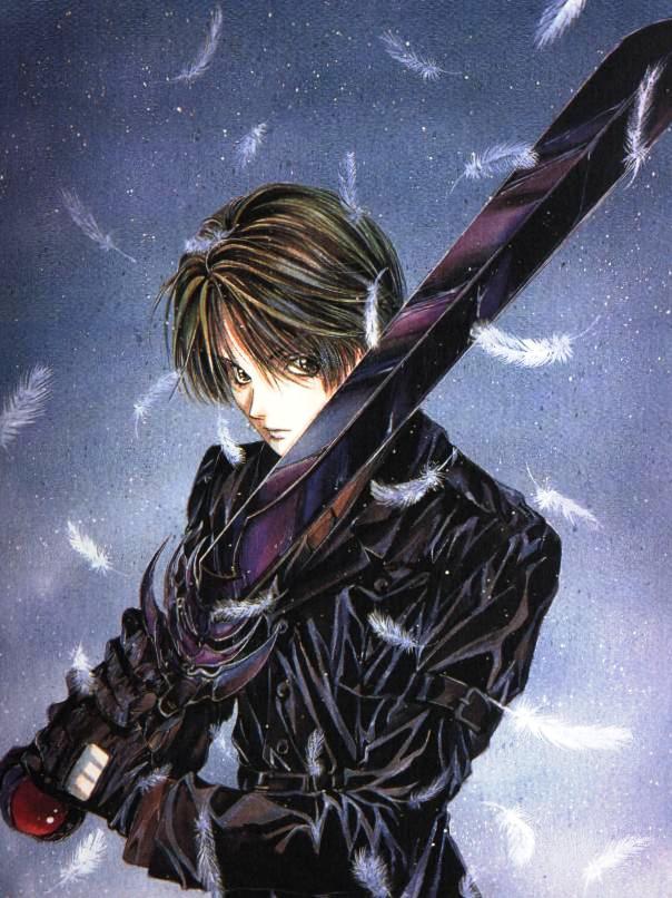 Anime Characters Using Sword : Images fonds d écran sur angel sanctuary fond