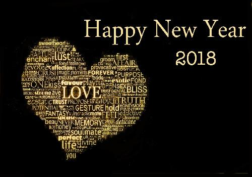 best words for the new year 2018