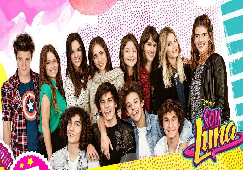 Soy Luna And Her Friends Wallpaper