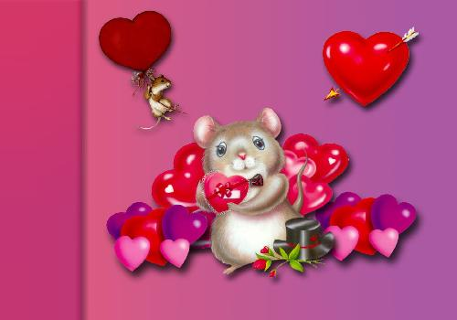 Mouses and hearts