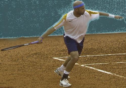 James Blake Wallpaper Tennis