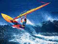 Surf et voile
